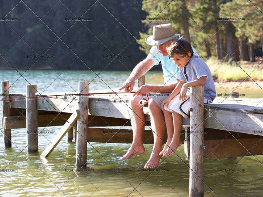Fishing With Grandson