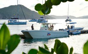 Sea Bandit on Cooper Island dock