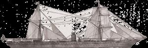 RMS Rhone line drawing