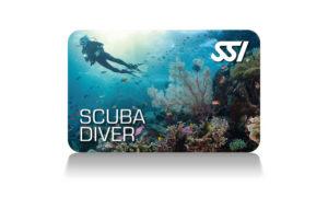 SSI Scuba Diver card